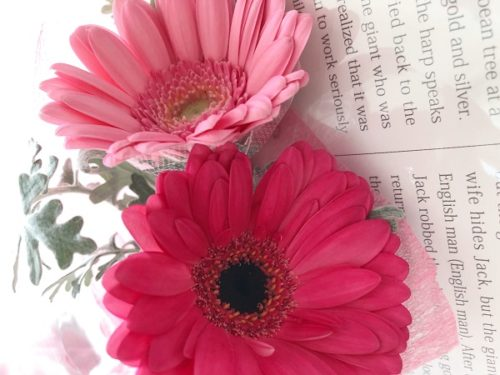 アリスの庭のワンコインで買える花束