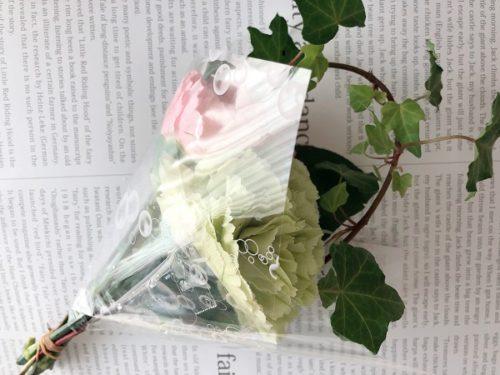 マルエツの花屋さんでワンコインで買える花束