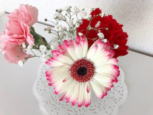 マミーマートの花屋さんの花束