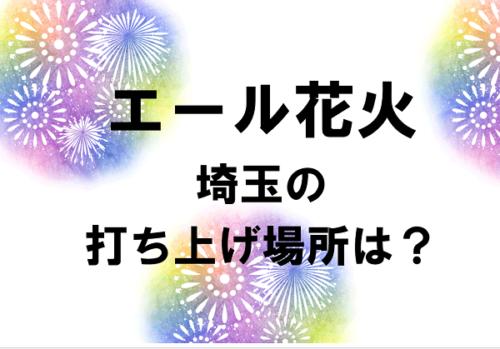 エール花火埼玉はどこ?