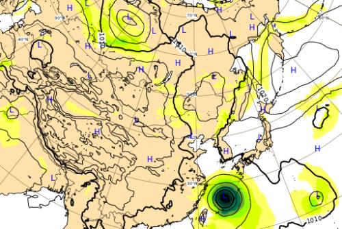 台風10号ヨーロッパ進路予想0901