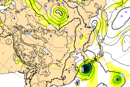台風10号ヨーロッパ進路予想0902