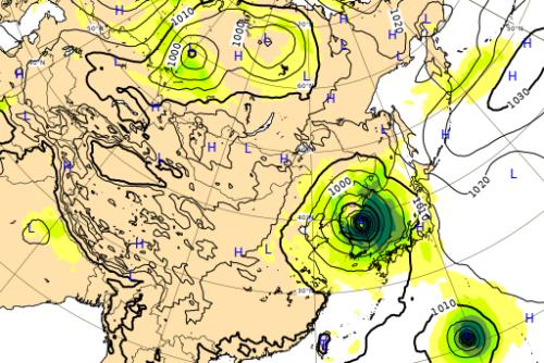 台風10号ヨーロッパ進路予想図0903