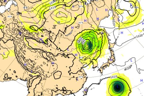 台風10号ヨーロッパ進路予想図0904