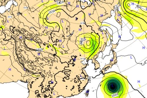 台風10号ヨーロッパ進路予想図0905