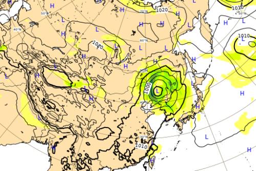 台風10号ヨーロッパ進路予想図0908