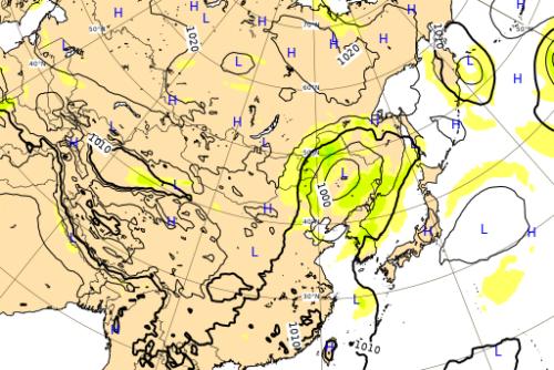 台風10号ヨーロッパ進路予想図0909