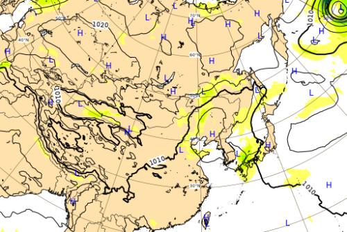 台風10号ヨーロッパ進路予想図0910