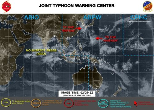 台風10号9月2日