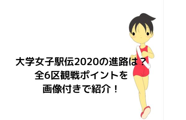 駅伝 全日本 女子 2020 大学
